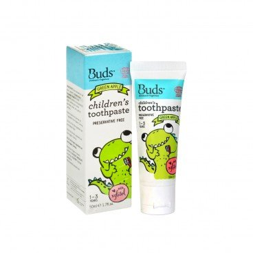BUDS ORGANICS Xylitol Toothpaste green Apple 50ML