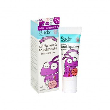 BUDS ORGANICS Xylitol Toothpaste blackcurrant 50ML