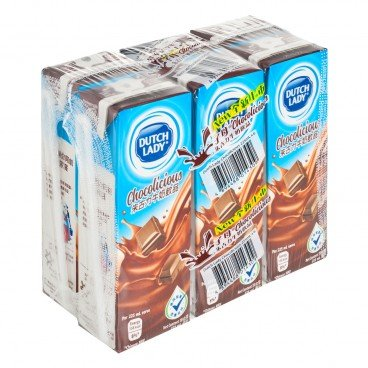 DUTCH LADY - Chocolate Milk Beverage - 225MLX6