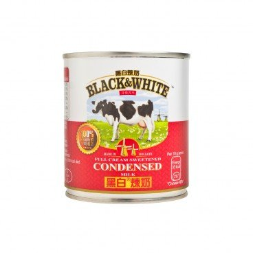 BLACK & WHITE - Sweetened Condensed Milk - 397G