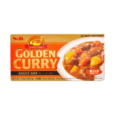 S&B - Golden Curry mild - 220G