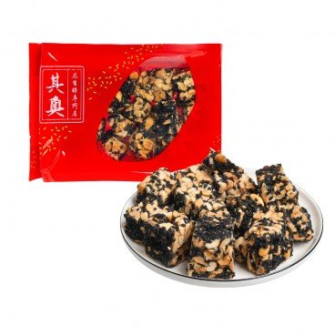 YUEN LONG KEI O - Black Sesame Peanuts Brittle - 227G