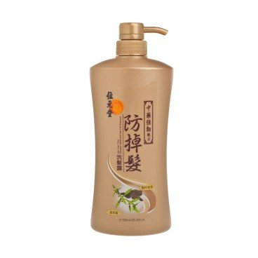 WAI YUEN TONG - Chinese Herbal Anti Hair Fall Shampoo Invigorating Formula - 750ML