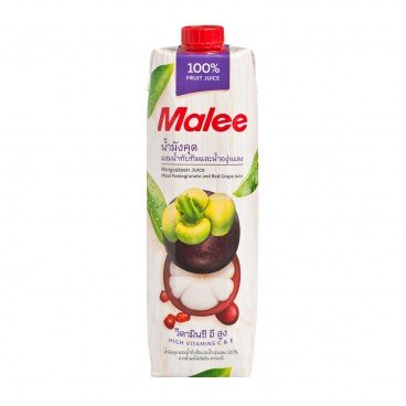 MALEE 100 Mangosteen Juice Mixed Pomegranate red Grape Juice 1L