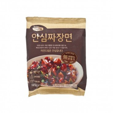 GAGASTORE - ICOOP KOREA Natural Dream Noodles black Soybean Paste Non spicy 138G