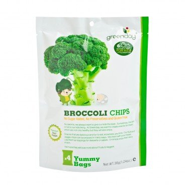 GREENDAY Happy Fruit Farm Broccoli Chip 36G