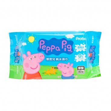 PROBO - Peppa Pig Wet Wipes - 80'S