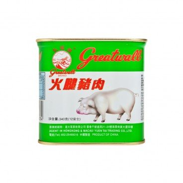 GREATWALL - Chopped Pork And Ham - 340G