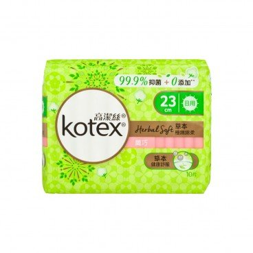 KOTEX Herbal Soft Slim Day 23 cm 10'S