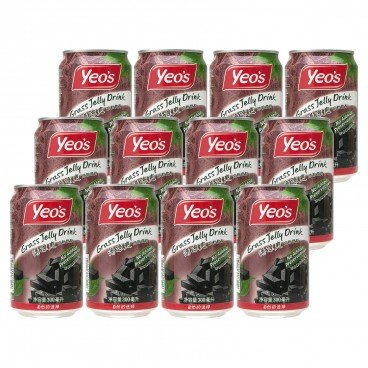 YEO'S - Grass Jelly Drink - 300MLX12
