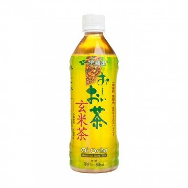 ITOEN - Green Tea With Roasted Rice Tea - 500ML