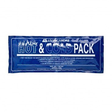 LIVINGSTONE Hot cold Pack Clear Blue Gel PC