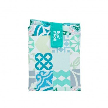 BOC'N'ROLL BY ROLL'EAT Eco friendly Sandwich Wrap patchwork Green PC