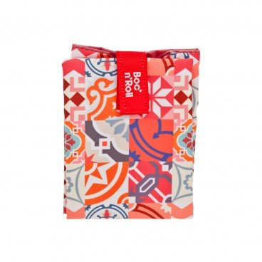 BOC'N'ROLL BY ROLL'EAT Eco friendly Sandwich Wrap patchwork Orange PC