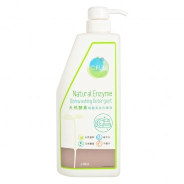 CF LIFE BY CHOI FUNG HONG Natural Enzyme Dish Washing Detergent 1L