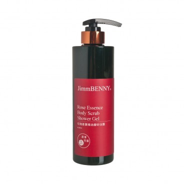 JIMMBENNY - Rose Moisturizing Body Scrub Shower Gel - 500ML