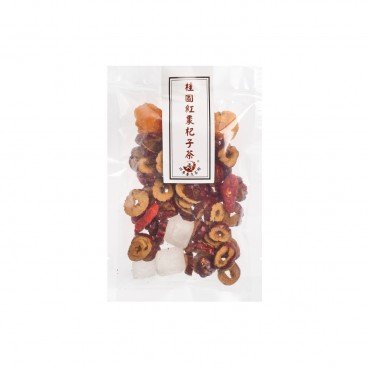FOUR SEASON TEAHOUSE - Longan Red Date Goji Berry Tea - 25G