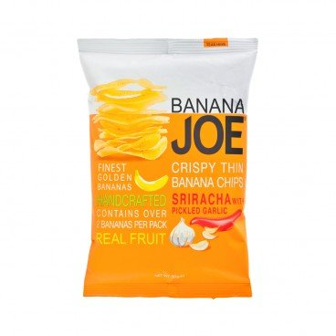 BANANA JOE Crispy Banana Chips sriracha With Pickle Garlic Flavor 50G