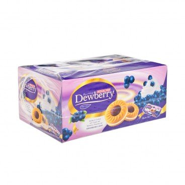 JACK'N JILL - Dewberry Biscuits blueberry Flavour - 36GX12