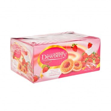 JACK'N JILL - Dewberry Biscuits strawberry Flavour - 36GX12