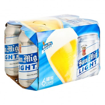 SAN MIGUEL - Light Pale Pilsen - 330MLX6