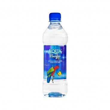 AQUA PACIFIC Natural Mineral Water Expiry Date 14 Sep 2019 600ML