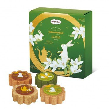 HAAGEN-DAZS Voucher greeny Moonlight 4 pcs PC