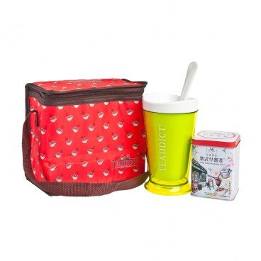 TEADDICT Slush Cup Ice Bag Set hong Kong Breakfast Tea SET