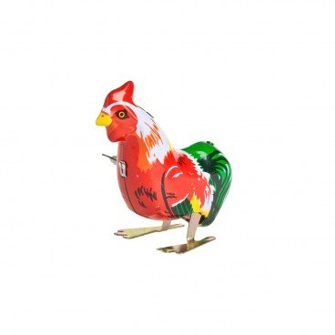 HUOYAN Rooster Metal Toy PC