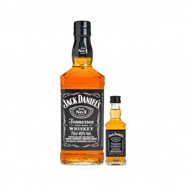 JACK DANIEL'S - Old No 7 Tennessee Whisky Miniature Set - 70CL
