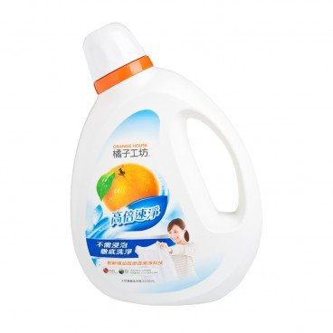 ORANGE HOUSE Nature Liquid Detergent power Orange Cleaning 2.2L