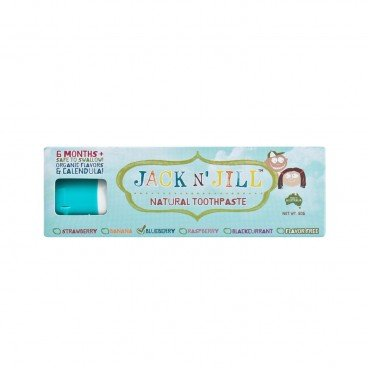JACK N' JILL Natural Toothpaste blueberry 50G