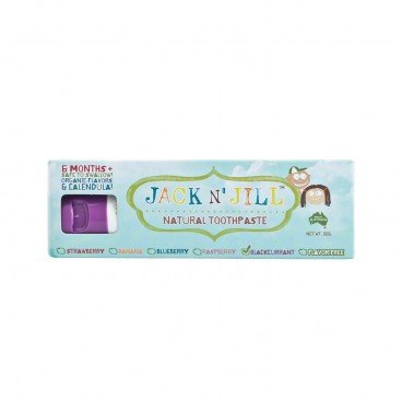 JACK N' JILL - Natural Toothpaste blackcurrant - 50G