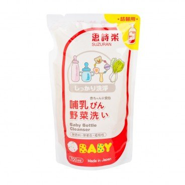 SUZURAN - Baby Bottle Cleanser Refill Pack - 700ML