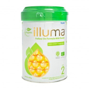 WYETH ILLUMA - Illuma Organic Stage 2 - 900G