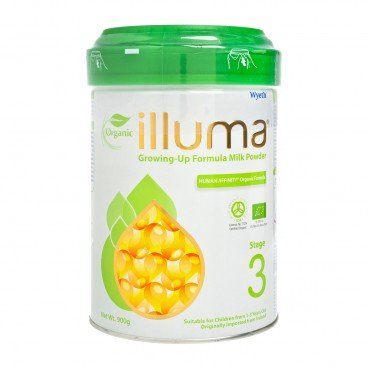 WYETH ILLUMA - Illuma Organic Stage 3 - 900G