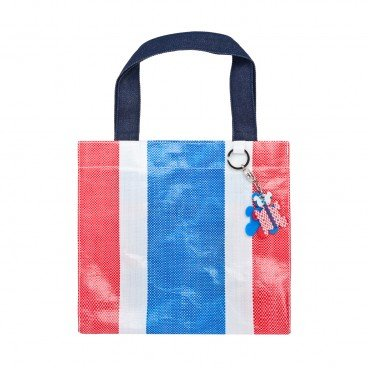 RED WHITE BLUE 330 Tote Bag With Keychain PC
