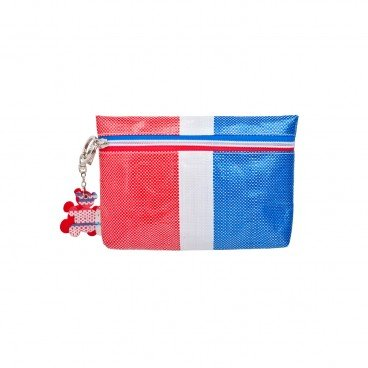 RED WHITE BLUE 330 Multi purpose Bag With Keychain PC
