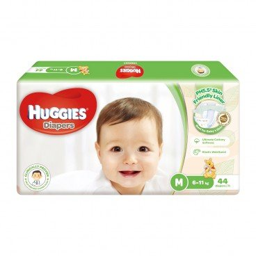 HUGGIES好奇 Natural Skincare Diaper Medium 44'S