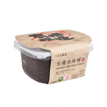 WEI JUNG Organic Red Miso aged For 1 Year 300G