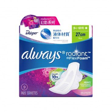 WHISPER - Always Radiant Flex Foam 27 cm - 9'S