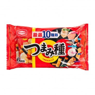 KAMEDA Crisps And Peanuts Mixed Flavor 130G