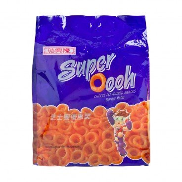 SZE HING LOONG - Super Oooh Cheese Flavoured Snack bonus Pack - 14GX10