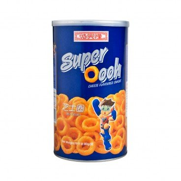 SZE HING LOONG - Can Size Super Oooh Cheese Flavoured Snack - 80G