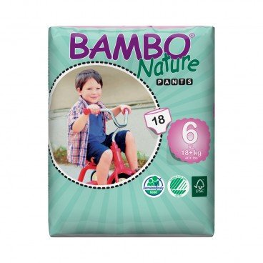 BAMBO NATURE Eco Friendly Baby Training Pants extra Large Size 6 18'S