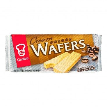 CREAM WAFERS-CAPPUCCINO FLAVOUR