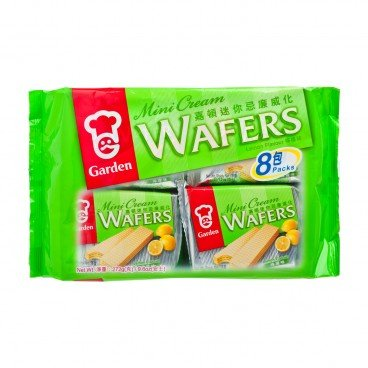 GARDEN Mini Lemon Wafer Tray Pack 272G