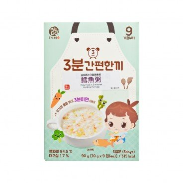MIZNCO Cod Rice Porridge 10GX9