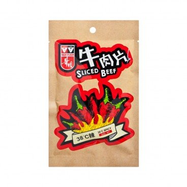 WAH YUEN - Sliced Beef 38 spicy - 40G