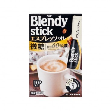 AGF Blendy Stick Latte less Sugar 7.7GX10